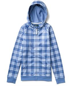 Burton Scoop Hoodie Purple Sage Punkstar Plaid