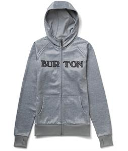 Burton Scoop Hoodie Pewter Heather