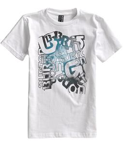 Burton Scrawl T-Shirt Bright White