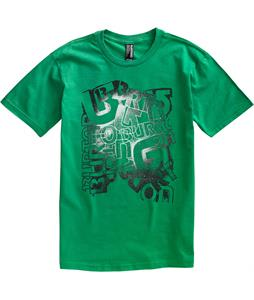Burton Scrawl T-Shirt Kelly