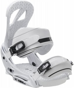 Burton Scribe EST Snowboard Bindings White