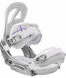 Burton Scribe EST Snowboard Bindings White Violet
