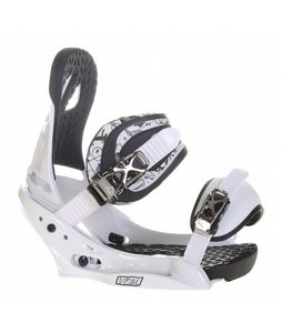 Burton Scribe EST Snowboard Bindings Trooper White