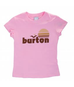 Burton Seaside APR T-Shirt Pink/Brown