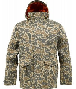 Burton Sentry Snowboard Jacket Burlap Duck Camo