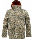 Burton Sentry Snowboard Jacket Burlap Duck Camo - Men's