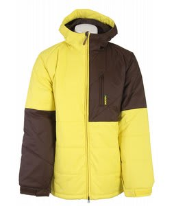 Burton Shakedown Snowboard Jacket Barrier Yellow/Mocha