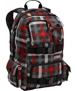 Burton Shaun White SS Backpack Lava Texture Plaid
