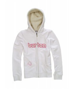 Burton Shred Hoodie Bright White