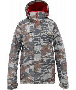 Burton Skylar Goretex Snowboard Jacket Gamo Print
