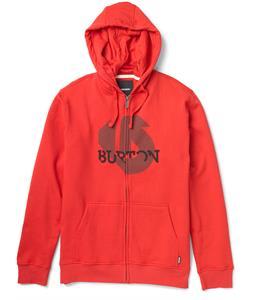 Burton Slanted Full-Zip Hoodie Cardinal