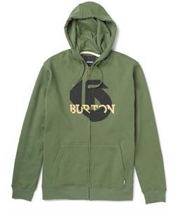 Burton Slanted Full-Zip Hoodie Olive