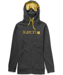 Burton Sleeper Full-Zip Hoodie Heather True Black