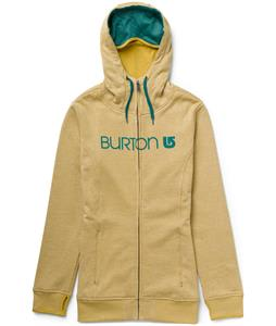 Burton Sleeper Full-Zip Hoodie Heather Paper Bag