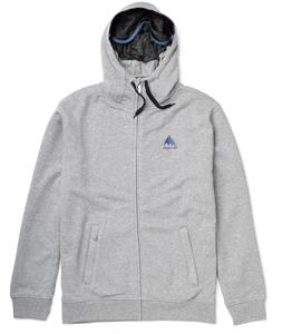 Burton Sleeper Premium Full-Zip Hoodie Heather Pewter