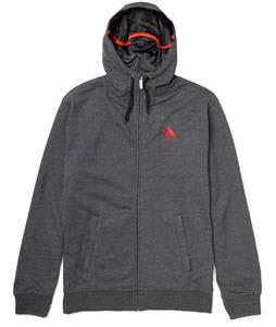 Burton Sleeper Premium Full-Zip Hoodie Heather True Black