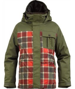 Burton Sludge Snowboard Jacket Keef/Keef Revolt Plaid