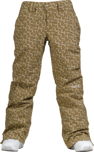 Burton Society Snowboard Pants Doodle Print Capers