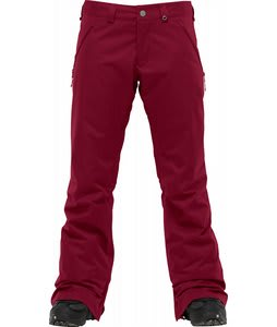 Burton Society Snowboard Pants Garnet