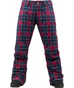 Burton Society Snowboard Pants Hex Radiant Plaid