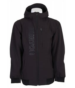 Burton Softshell Hoodie True Black