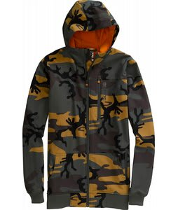 Burton Softshell Hoodie Snowboard Jacket Sherwood Camo