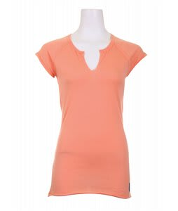 Burton Solid Raw V-Neck Crmsicle