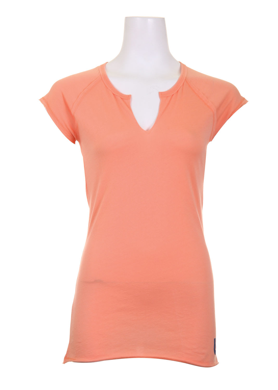 Shop for Burton Solid Raw V-Neck Creamsicle - Women's