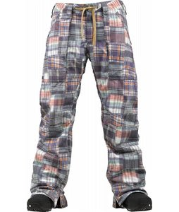 Burton Southside Snowboard Pants Madras Plaid