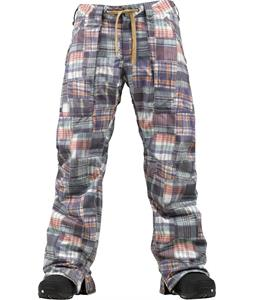 Burton Southside Slim Snowboard Pants Madras Plaid