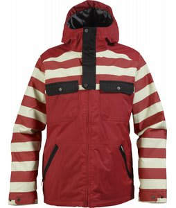 Burton Southsider Snowboard Jacket Redical Jailhouse Stp