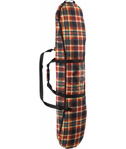 Burton Space Sack Snowboard Bag Majestic Black Plaid 166cm