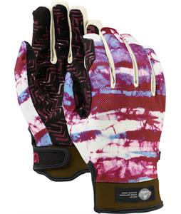 Burton Spectre Gloves Tie Dye Stripe