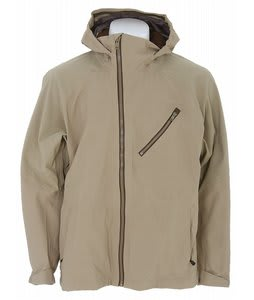 Burton AK 3L Sqwawk Softshell Snowboard Jacket Coriander