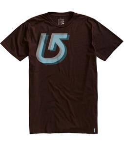 Burton Staggered Slim Fit T-Shirt Heather Mocha