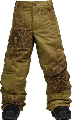 Burton Standard Snow Pants Mocha Geoflip