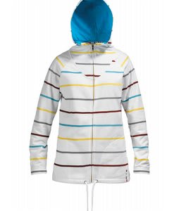 Burton Star Hoodie Bright White 