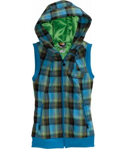 Burton Starr Vest Fleece Ladyluck Prismatic Plaid