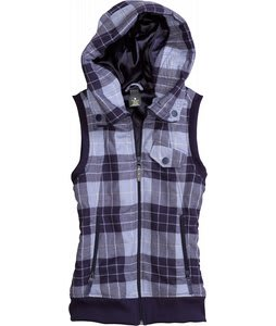 Burton Starr Vest Hoodie Hex Punk Plaid