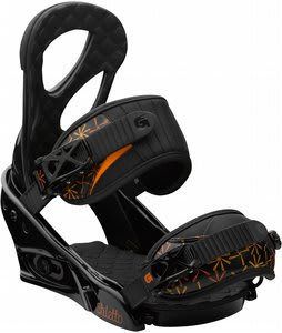Burton Stiletto Snowboard Bindings Black