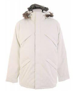 Burton Strapped Down Snowboard Jacket Bright White