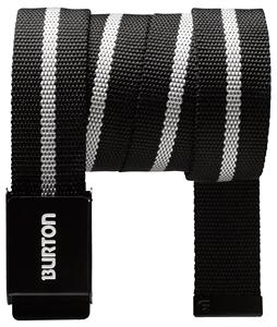 Burton Striper Webbing Belt True Black