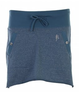 Burton Super 8 Lurex Skirt Spectrum Blue