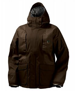 Burton SW Cargo Snowboard Jacket Roasted Brown
