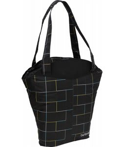 Burton Swiss Tote Black Gridline Plaid