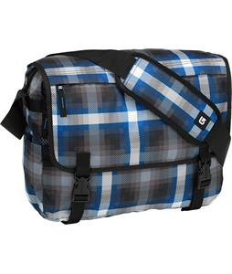 Burton Synth Messenger Bag Cobalt Springer Plaid 19L