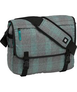 Burton Synth Messenger Bag Misty Tidal Plaid 19L