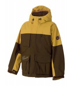 Burton System Snowboard Jacket Roasted Brown