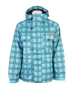 Burton System Snowboard Jacket Curacao Shdwbx Pl Yarn Dye