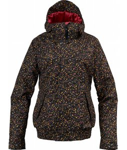 Burton Tabloid Snowboard Jacket True Black Liberty Dot